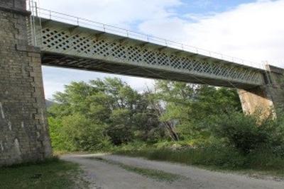 EAI du projet de pont SNCF à l'Argentière-la-Bessée (05)
